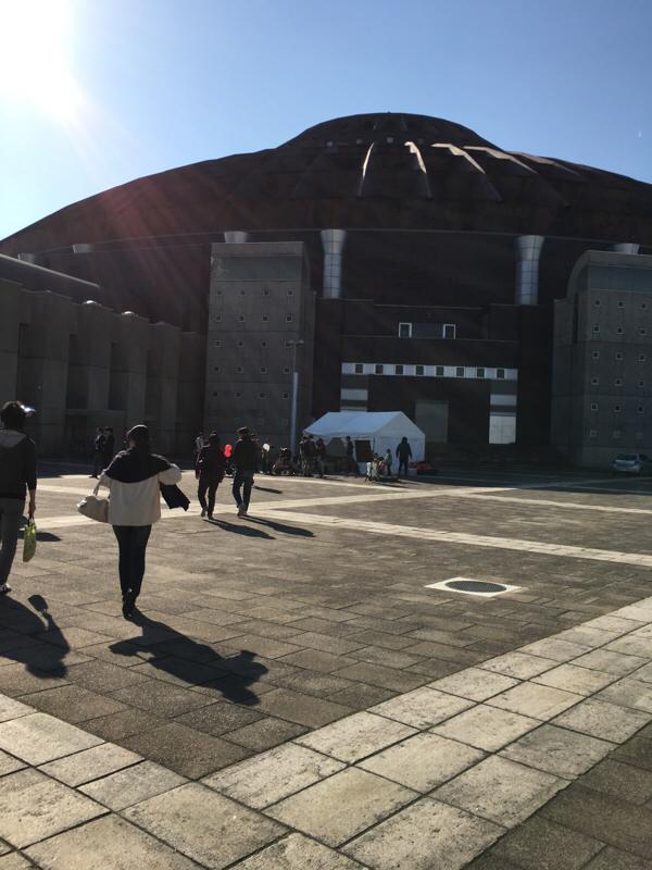 日本全国グルメ博2016に行ってきました。もえあずとニッチェがおった。