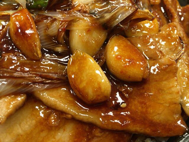 デカ豚バラの焼肉丼(伝説のすた丼屋)ダブル肉飯増し(編)