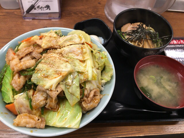 伝説のすた丼屋のピリ辛メニュー!ピーカラ丼をマシマシで食べました。