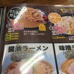 伝説のすた丼屋のカレーメニュー『すたみなカレー』を食べてみました。