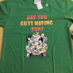 GUにてドラゴンボールのグラフィックTシャツを購入しました。(※レビューあり)
