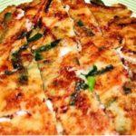得する人損する人でやっていた、コンビニ食材で作る 海鮮チヂミ 作り方レシピ『メモ』